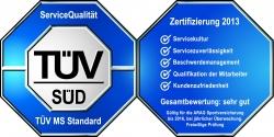 ARAG-TÜV-Zertifizierung