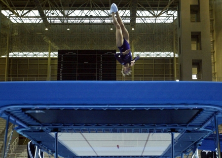 TRAMPOLINE-GREECE-WOMEN-OLYMPIC TEST EVENT